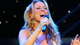 Mariah Carey - Dodging BELTS With WHISTLE Notes! (Live)
