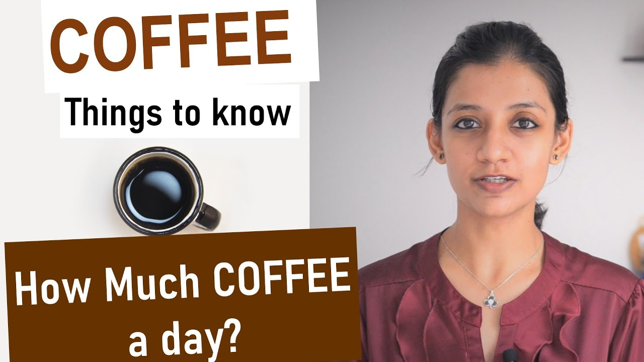 how many cups of coffee a day