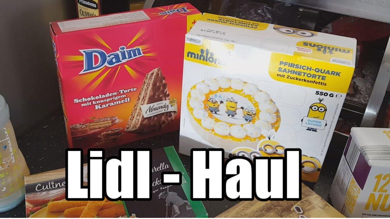 Wocheneinkauf Bei Lidl Haul Minions Torte Nici Youtube