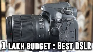 CANON EOS 80D DSLR CAMERA Unboxing : Best In 1 Lakh Budget