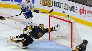 Fleury robs Leafs with save-of-the-year candidate