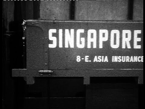 Calling on Singapore and Bombay in 1960
