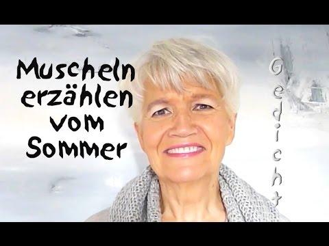Muscheln Erzählen Vom Sommer Gedicht Greta Silver