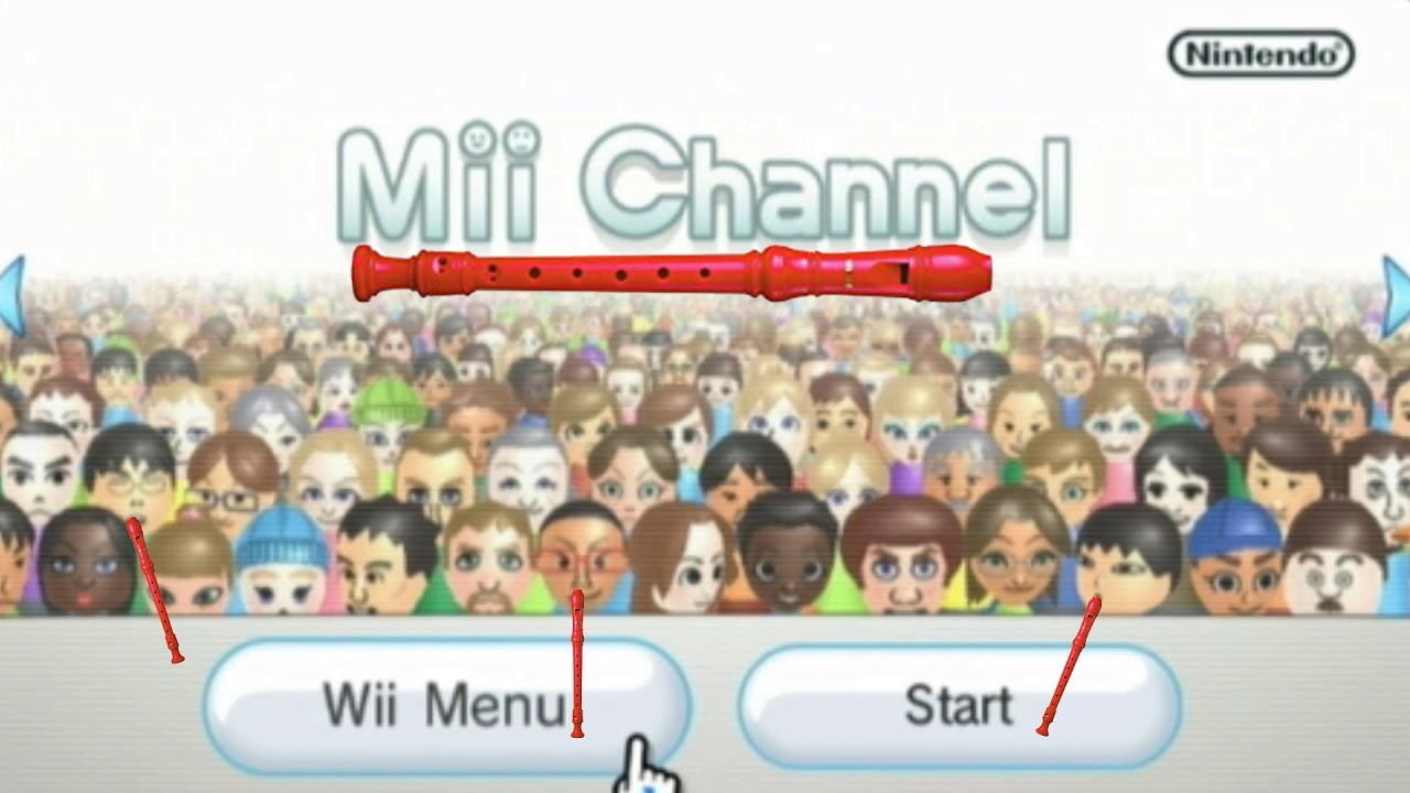 maxresdefault mii channel theme except its a terrible recorder cover youtube