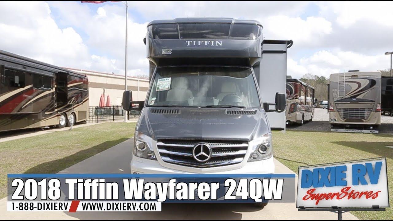 2018 Tiffin Wayfarer 24QW For Sale Now At Dixie RV In Hammond, Louisiana