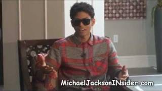 Repeat youtube video B Howard interview-Is he Michael Jackson's son? & More!