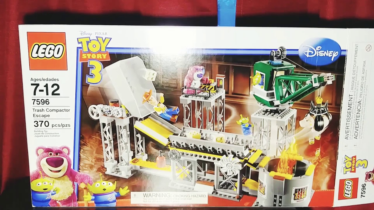 Download Lego toy story 3 trash compactor escape #7596