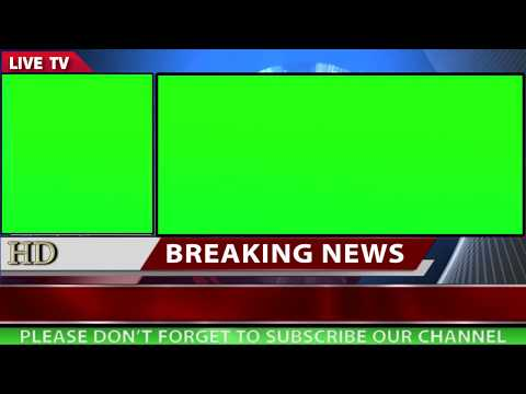 Free News Background with two green screen motion background video 1080p HD  Part2