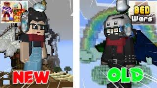 OLD BEDWARS vs NEW BEDWARS (Blockman Go : Blockymods)