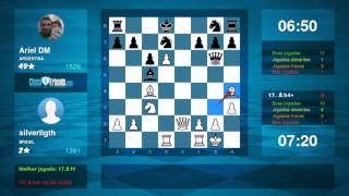 Chess Game Analysis: silverligth - Ariel DM : 1-0 (By ChessFriends.com)