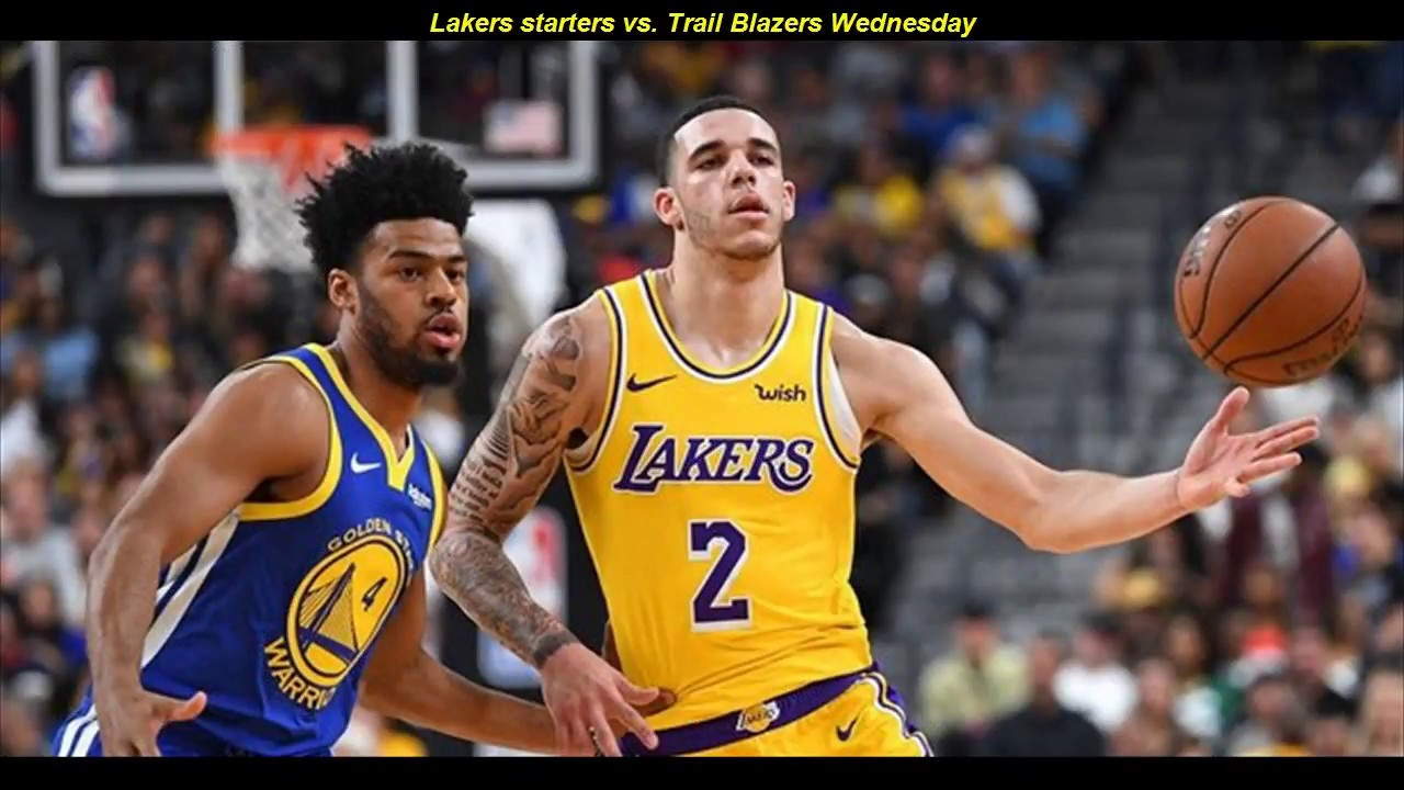 Los Angeles Lakers - Sacramento Kings Sofascore Lakers Starters Vs Trail Blazers Wednesday Highlights Lakers Vs Trail Blazers 11 3 18