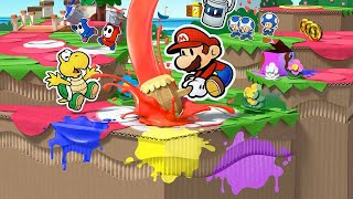 Paper Mario: Color Splash Playthrough (Live!) Part #4 (Continued)