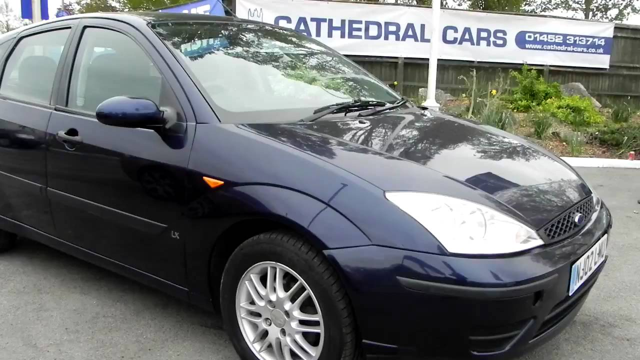 2002 ford focus 1 6 lx youtube