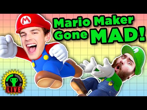 crazy-mario-maker-2-levels-w/-the-completionist-and-natewantstobattle-(st.-jude-charity-livestream)