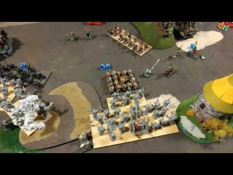 Orctoberfest 2016 - Kings of War - Abyssal Dwarfs vs. Ratkin Battle Report