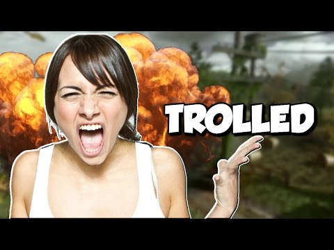 "Triggered GIRL GAMER Gets Herself KICKED! ""COD MWR Trolling"""