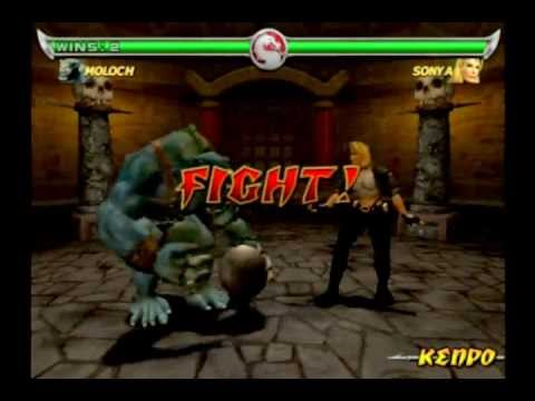 Mortal Kombat Deadly Alliance Moloch Gameplay - YouTube