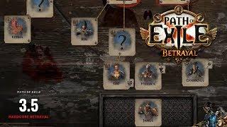 PoE 3.5 - HC Betrayal EP23 - Vortex + Death