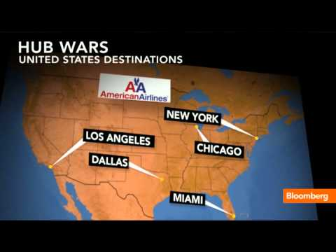 How The US Airways-American Merger Will Affect Hubs