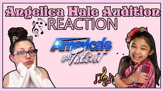 America's Got Talent 2017 Angelica Hale 9 Year Old 1st Audition REACTION