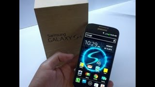 Samsung Galaxy S4 Unboxing and quick comparison with the Galaxy Nexus =]