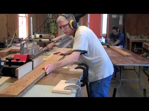 Making Tongue and Groove Flooring  YouTube