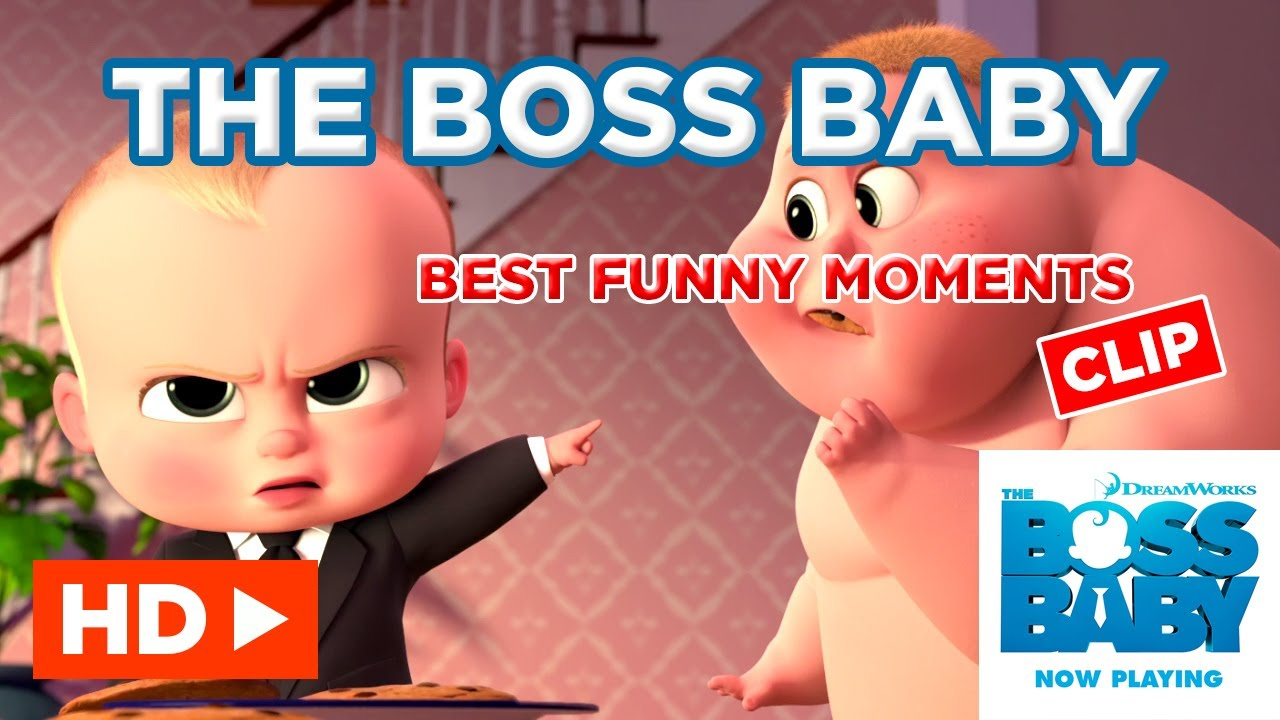 The Boss Baby 2017 Best Funny Moments Hd Clip