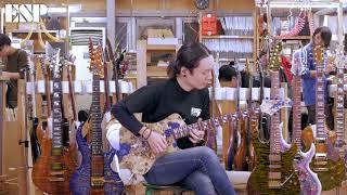 ESP Guitars: 2018 ESP Exhibition Limited EX18-25 STREAM-GT CTM [4K]