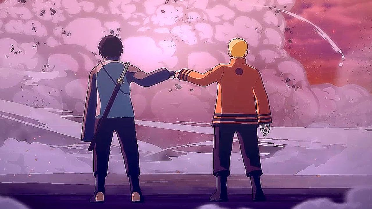 Download Naruto, Sasuke & Boruto Vs Momoshiki Full Fight (English Dub) - Storm 4 Road to Boruto Movie