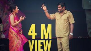 Chala Hawa Yeu Dya Fame Kushal Badrike & Shreya Bugade LIve Perforamance #Diwali Pahat 2019