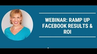 Mari Smith Cision Webinar Promo: Ramp Up Facebook Results & ROI