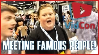 Meeting Famous People At VidCon! (2015 Day 2)