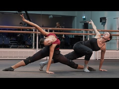 The Royal Ballet rehearse Draft Works – World Ballet Day 2018