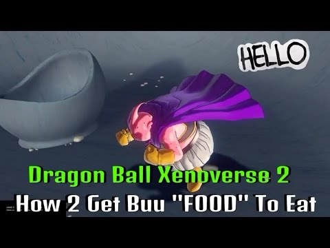 Dragon Ball Xenoverse  How To Get Food Fast