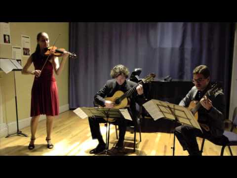 Claudia Schaer ~ Carmen Habañera ~ Violin and 2 Guitars (excerpt)