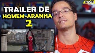 TRAILER HOMEM-ARANHA LONGE DE CASA #REACT