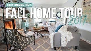 Fall Home Tour 2017 🍂 Cheerful Boho Farmhouse Decor | The Diy Mommy