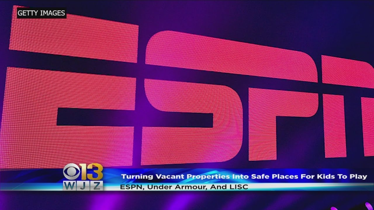 ESPN, Under Armour Want To Turn Vacant Baltimore Lots Into Spaces For Play