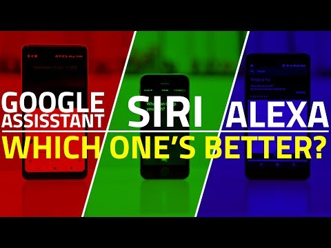 Siri vs Alexa vs Google Assistant: The Smartest Virtual Assistant in 2018