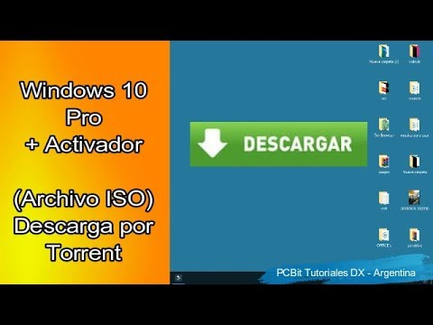 Windows 10 Pro 64 bits por torrent + Activado…