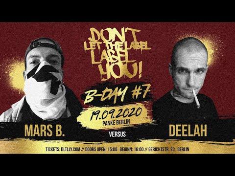DeeLah vs Mars B. // DLTLLY RapBattle (B.Day#7 // Berlin) // 2020
