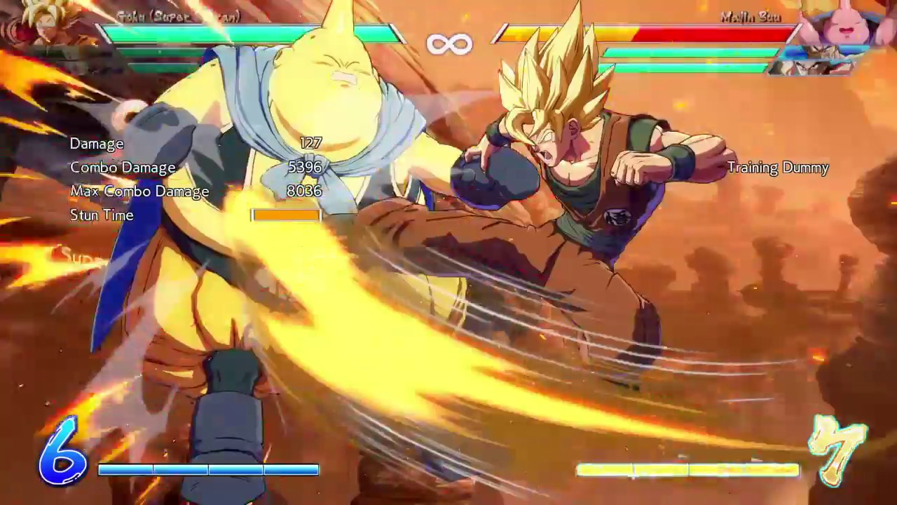 DRAGON BALL FighterZ_20181007060726 - I was able to actually get a 96% version of this on nappa. But didnt tape.. oh well... it was a bit more complicated and much more percise..
