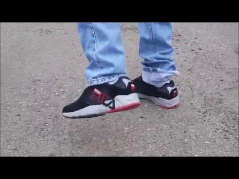 Fila Mindbender review and on feet