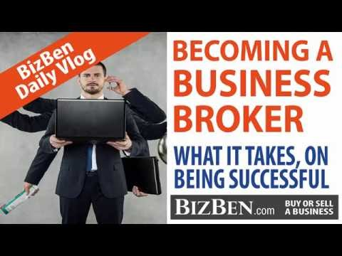 Becoming A Successful Business Broker - On The BizBen Vlog & Podcast