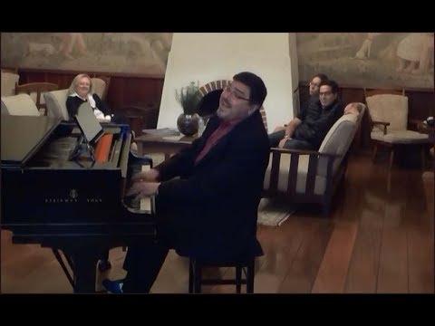 Marco Bernardo, voz e piano - Malvina, samba (Adoniran Barbosa)
