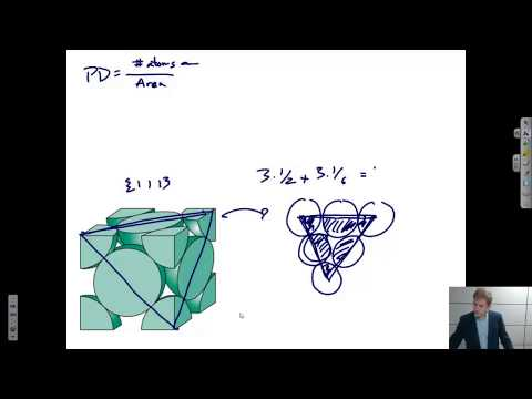 Linear Density, Planar Density, Atomic Packing Factor {Texas A&M: Intro to Materials (MSEN 201)}