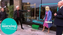 Holly & Phil Take on the Window Cleaning Champions | This Morning