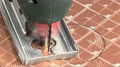 DIAMANT Fliesenfräser für Stichsägen - Diamond Tile Saw Blade For Jigsaws