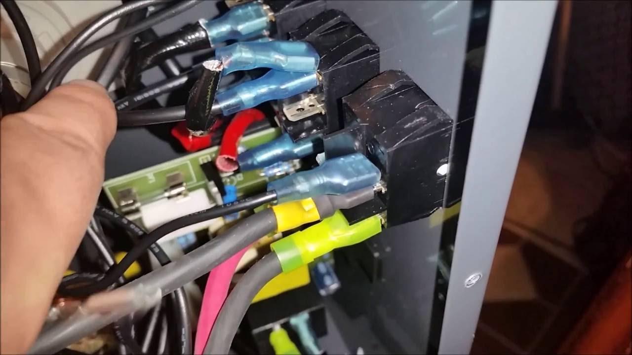 Harbor Freight 110 Amp Dual Mig Internal Wire Upgrade Part 2 Youtube Welder Wiring Diagram