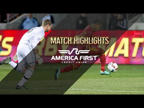 Highlights: Real Salt Lake vs Colorado Rapids - April 9, 2016